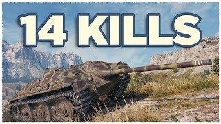 E 25 • 14 KILLS per Battle • Raseiniai Heroes