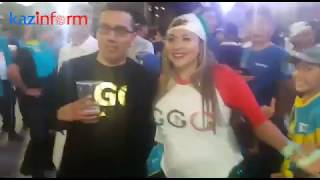 Головкин и Канело. Реакция зрителей на объявление ничьи.
