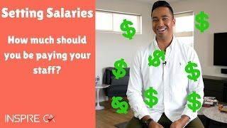Setting Salaries: How Much Should You Pay Your Staff?