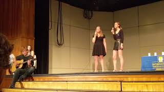 "Caroline, Claire, and Henro Perform ""Dreams"" by Fleetwood Mac"