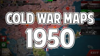 World Conqueror 4 1950 Conquest Map and Scenario Maps