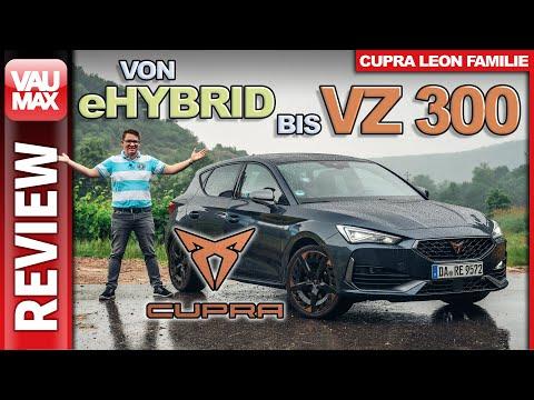 CUPRA LEON Family – Von eHybrid bis VZ 300 – Das bietet der Sport-Leon