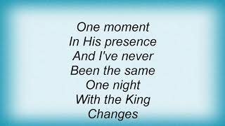 Aretha Franklin - One Night With The King Lyrics
