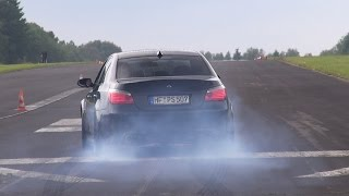 BMW M5 5.8L F1 DINAN STROKER 630HP BLACK BEAST! LOUDEST M5 EVER!