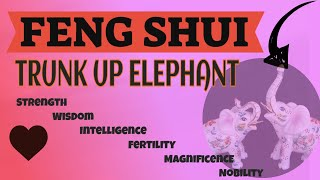 Feng Shui Elephant -Benefits Of Keeping An Elephant Figurine In The House