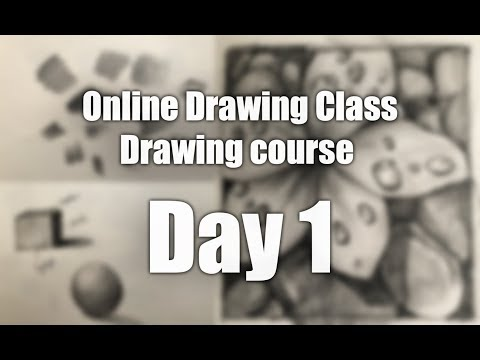 Sketching Class in Hindi | Day 1 | Drawing Class for Beginners | How to Draw