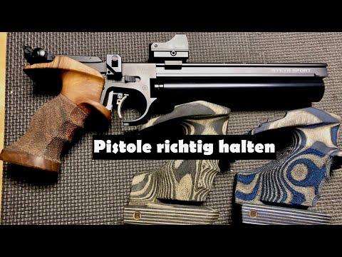 airghandi: Video-Tutorial: Die richtige Griffhaltung beim Luftpistolenschießen – Tipps für Hobbyschützen!