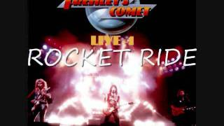 ACE FREHLEYS COMET LIVE +1 (Side 2) SOMETHING MOVED - ROCKET RIDE - WORDS ARE NOT ENOUGH