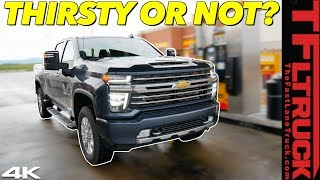 We Drive 1,000 Miles In The 2020 Chevy Silverado HD To Find Out If The New 10-Speed Gets Better MPG!