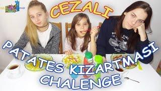 PATATES KIZARTMASI YEME YARIŞMASI - Eğlenceli Çocuk Videosu Funny Kids Videos
