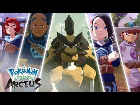 Frenzied Pokémon nobles | Pokémon Legends: Arceus de Légendes Pokémon : Arceus