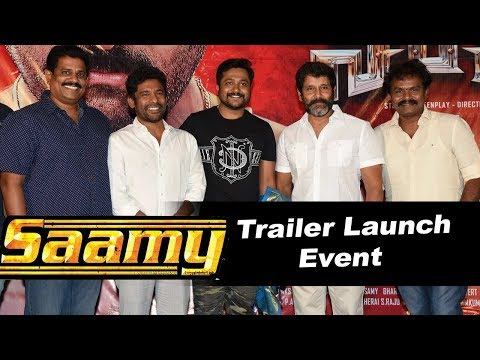 Saamy Movie Trailer Launch Event