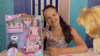 Смотреть онлайн Как выглядит беременная кукла Барби