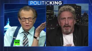 'I would rather know my govt is doing something illegal than not know' – McAfee
