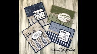 Come Sail Away & Well Said Masculine Cards