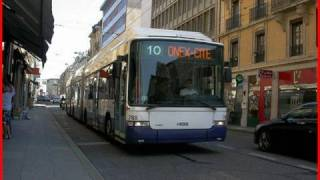 preview picture of video 'Megatrolley trolleybus TPG, Genève'