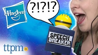 Speech Breaker - NEW Party Game | Hasbro
