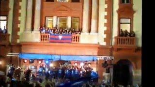 preview picture of video 'EIBAR PRIMERAN !!! Saludo de los jugadores del SD Eibar'