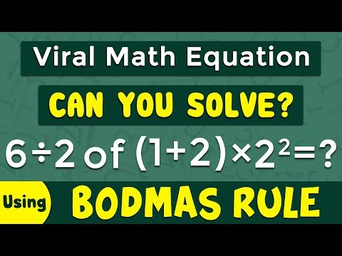 Download Math 4 Rule Of Bodmas English Hindi Video 3GP Mp4 FLV HD