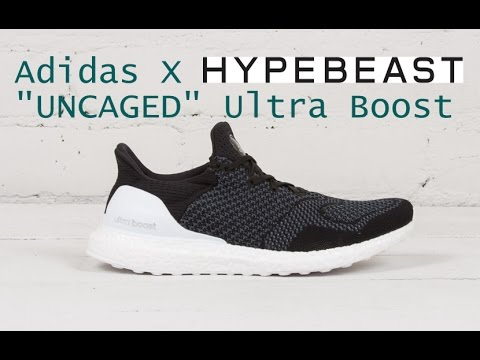 Adidas X HYPEBEAST Uncaged Ultra Boost Detailed Look