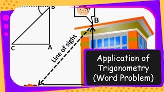 Maths – Measuring Height: Angle Of Elevation & Depression – Trigonometry Part 16- English