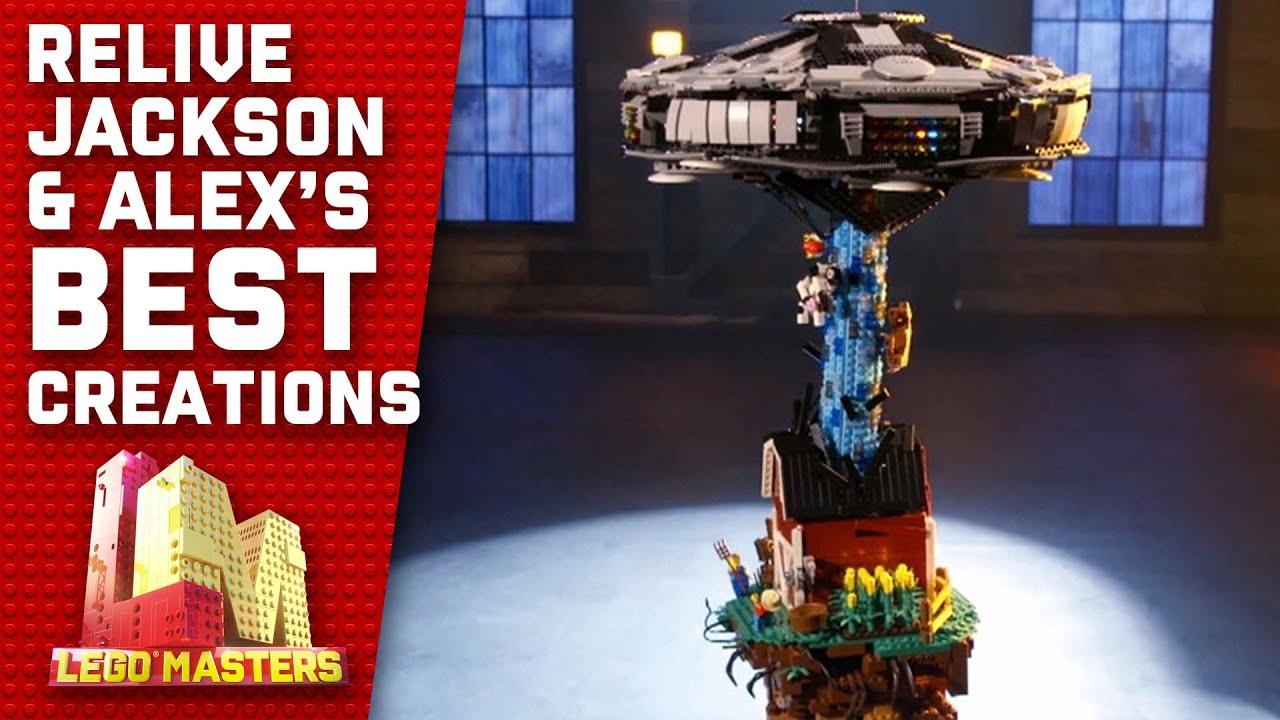 All of Jackson and Alex's Season 2 creations | LEGO Masters Australia 2020