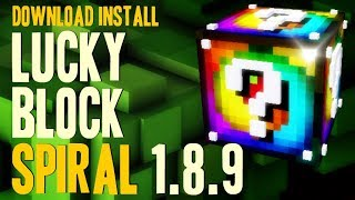 minecraft download lucky block mod 1.8.9