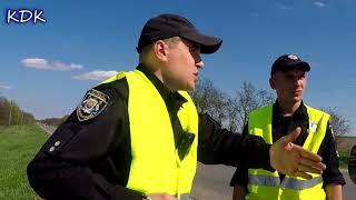 Пластик на трассе клепает постановления Полиция Кропивницкого