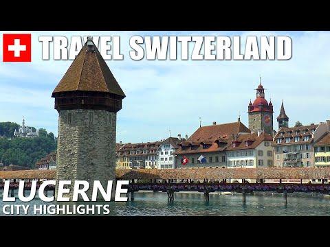 צפו במראות הנהדרים שאפשר למצוא בלוצרן, אחת מהערים היפות בשווייץ