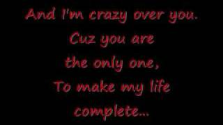 Crazy over you lyrics By 112