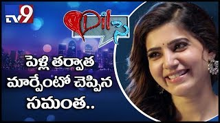 Dil Se - Samantha heartful interview on films and love life - TV9