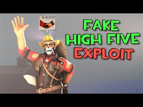 Does The Fake High Five Glitch Still Work? :: Team Fortress