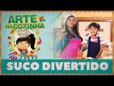 SUCO DIVERTIDO | Arte na cozinha com a Tia Érika