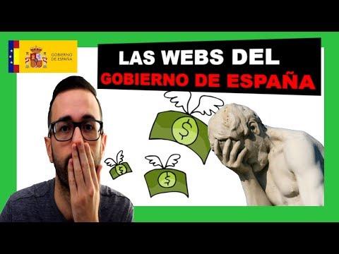 💸 Las webs del Gobierno de España 💸