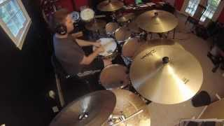 Dream Theater-Surrounded: NEW drum cover by Chris DeChiara