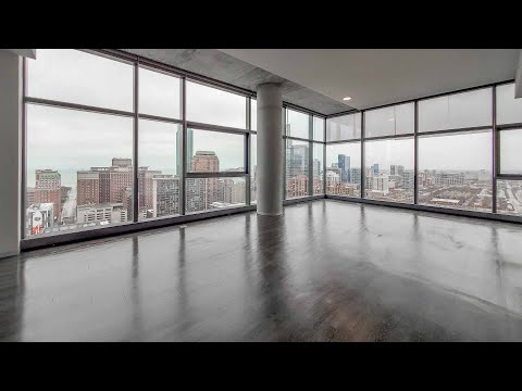 A South Loop 3-bedroom penthouse #3001 at the new Imprint tower