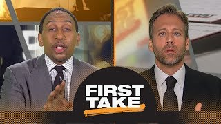 Stephen A., Max debate if Durant, Klay or Draymond will leave Warriors first | First Take | ESPN - Video Youtube