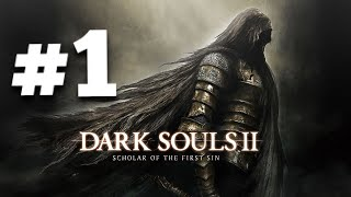 Dark Souls 2 PS4 #1 - Welcome to Dark Souls!!