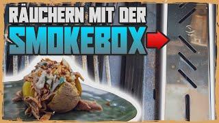 Räuchern mit dem Gasgrill - die Räucherbox Anleitung + Pulled Chicken Rezept