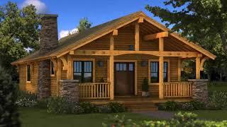Log Home Floor Plans Single Story - Gif Maker  DaddyGif.com (see Description)