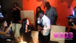 Kevin Hart Proposes To Eniko Parrish