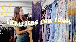 Come Thrifting With Me For Prom Dresses