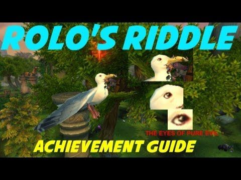 "WoW Patch 5.4: ""Rolo's Riddle"" Achievement Guide (Timeless Isle)"