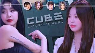 Is CUBE Entertainment About To Make Their Biggest Mistake Ever - (G)I-DLE Soojin, CLC & LIGHTSUM