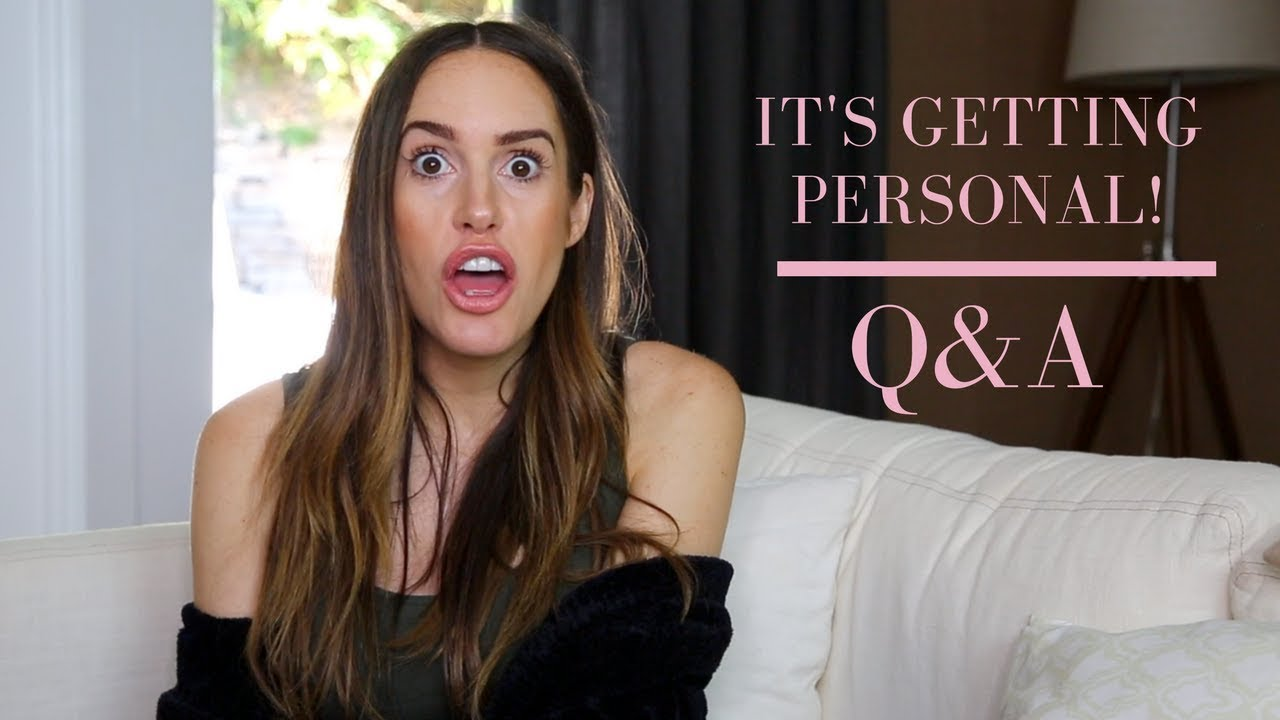 My first Q&A video