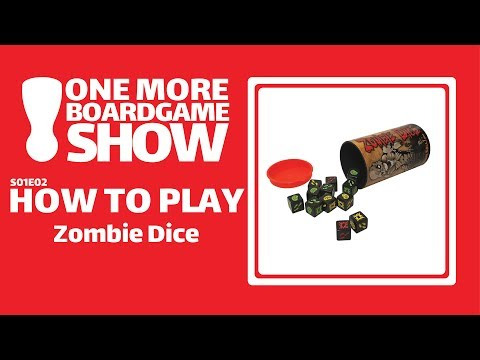 One More Board Game Show How To Play Zombie Dice