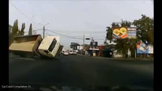 Drastyczne Wypadki Ciężarówek W Rosji 18+ Cz.1