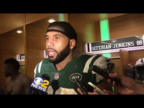 9/24/2017: Austin Seferian-Jenkins post-game interview (Jets vs. Dolphins)
