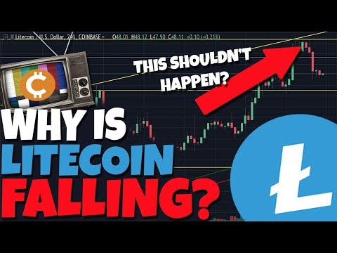 MUST WATCH: Litecoin Is Dropping, What You NEED To Know...