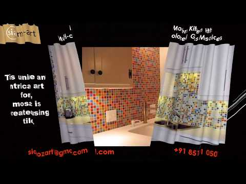 Kitchen Splash-back Glass Mosaic Tiles